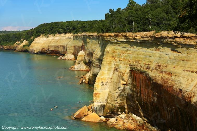 Pictured Rocks National Lakeshore Lake Superior Michigan USA www.remylacroixphoto.com