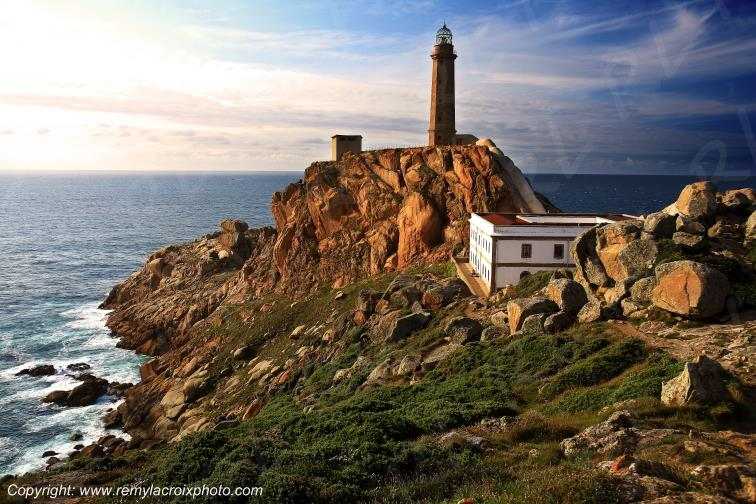 Vilan Lighthouse Galice Espagne Spain Espana