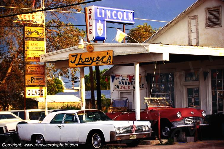 Lincoln Continental 63,Marathon,Texas,USA