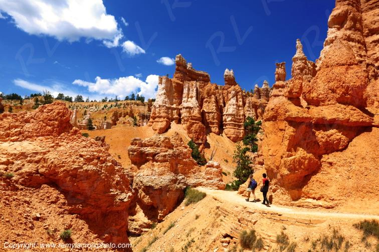 Queen's Garden Trail Bryce Canyon National Park Utah USA