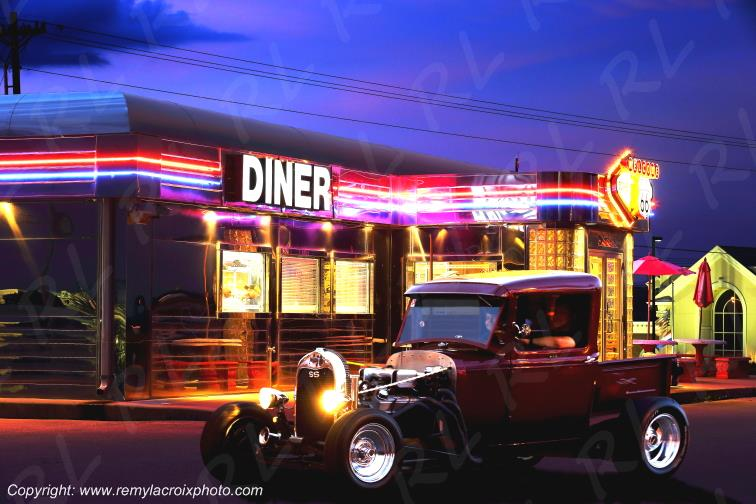 Hot Rod Route 66 Diner St Robert Missouri USA