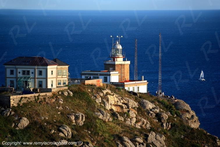 Cabo Fisterra lighthouse Galice Espagne Spain