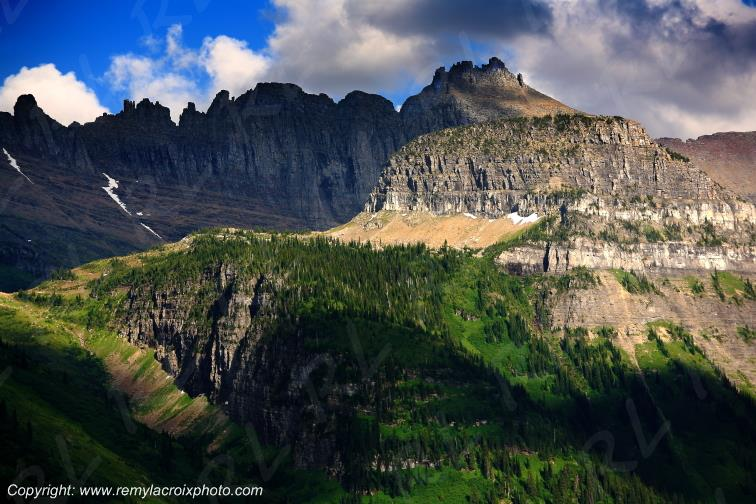 Rocky Mountains Glacier National Park Montana USA