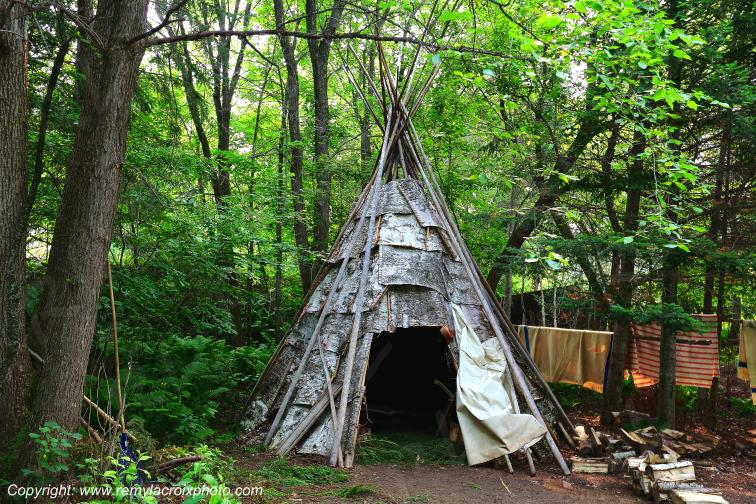 Wigwam,Fort William Historic Park,Ontario,Canada