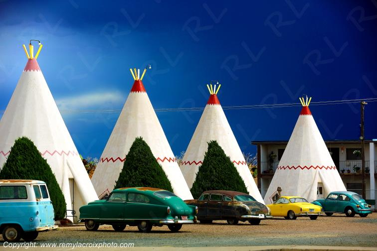 Wigwam Motel Holbrook Route 66 Arizona USA