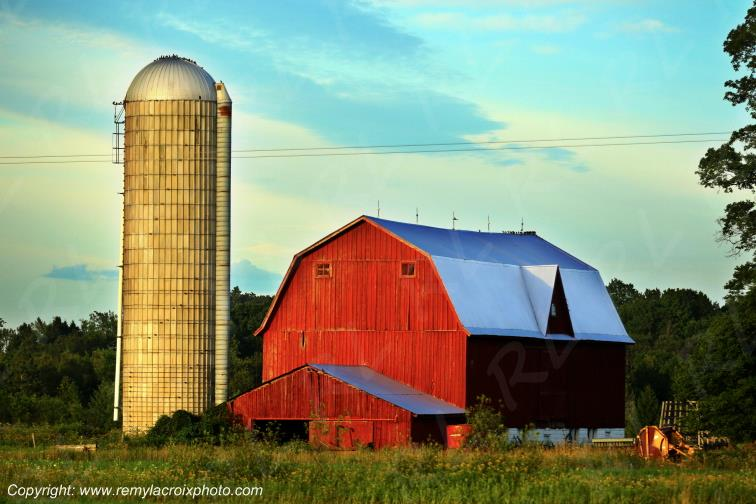 Red Barn Tranary Michigan USA