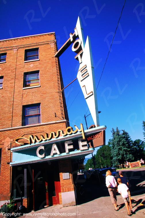 Livingston Murray Cafe Montana USA