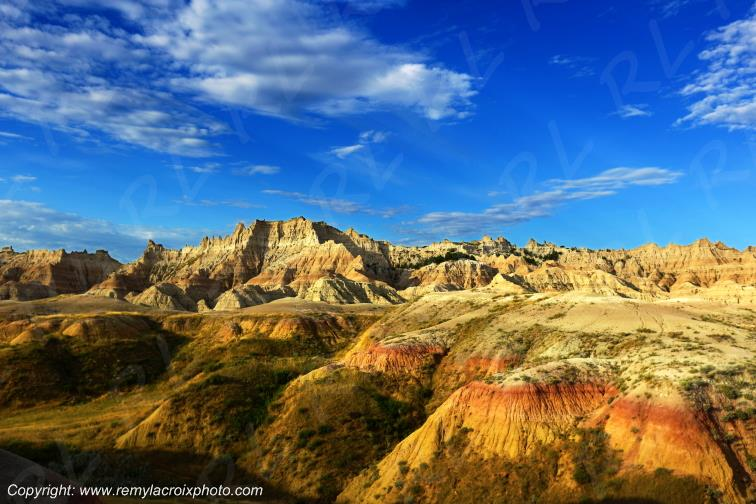 South-Dakota Badlands Sturgis Deadwood USA