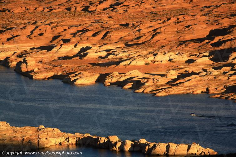 Lac Powell Glen Canyon Naional Recreation Area Arizona USA