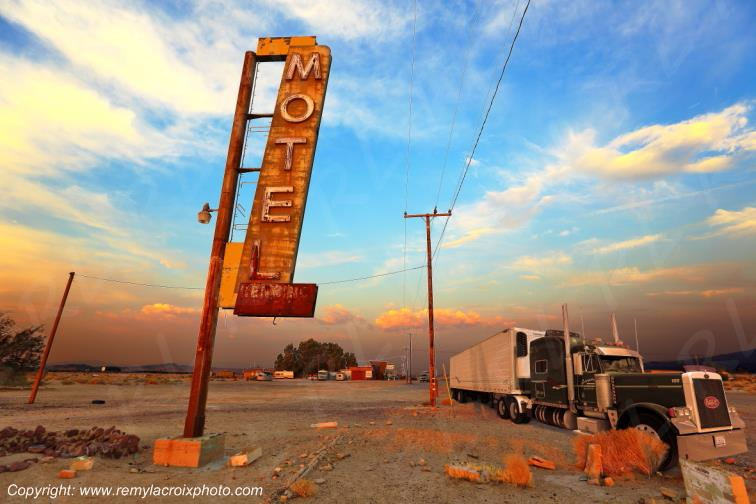 Bagdad Cafe,Route 66,Newberry Springs,Californie,USA