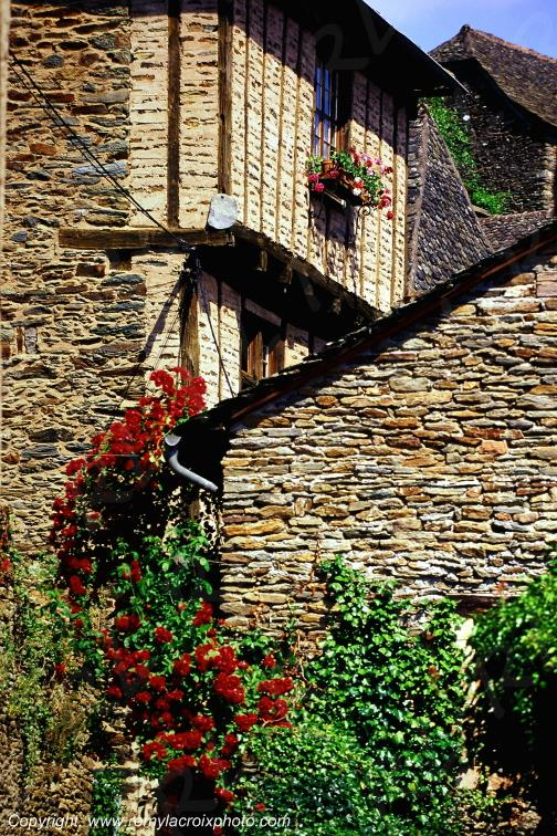 Conques,Aveyron,France