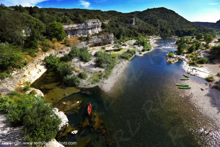 Gorges du Gardon Collias Gard Languedoc-Roussillon Occitanie France