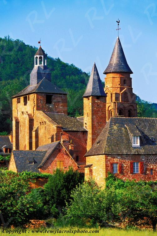 Collonges-la-Rouge Corrèze Limousin France