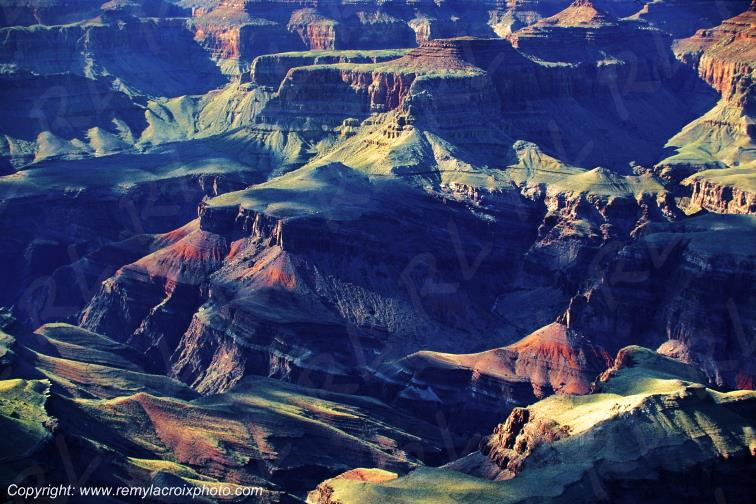 Grandview Point Grand Canyon National Park Arizona USA