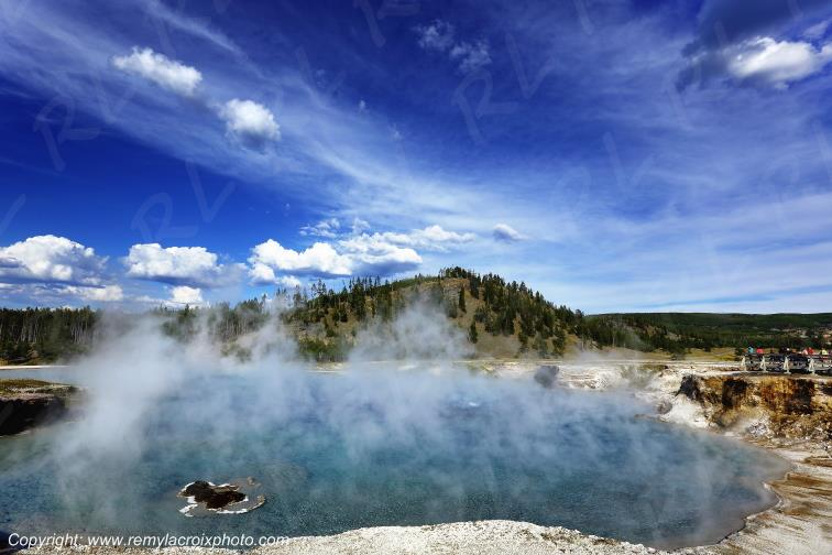 Midway Geyser Basin,Yellowstone Nat'l Park,Wyoming,USA