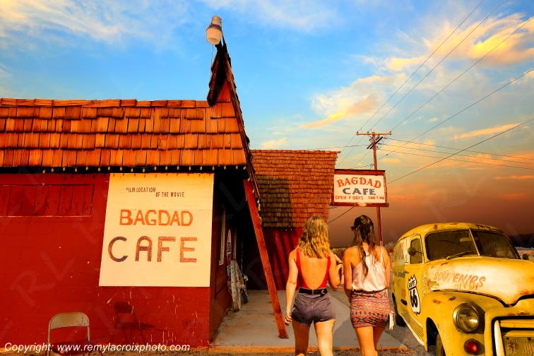 Bagdad Cafe Route 66 Newberry Springs Californie USA