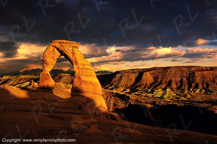 Delicate Arch Arches National Park Utah USA