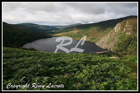 Lough Tay,Wicklow,Irlande