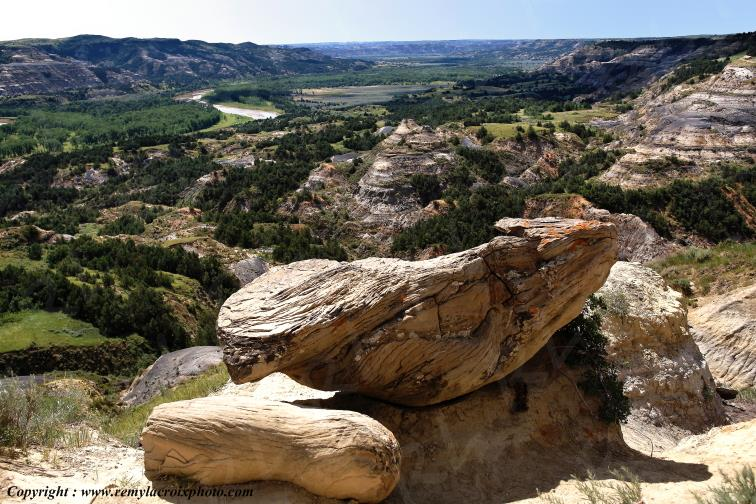Theodore Roosevelt National Park,North-Dakota,USA