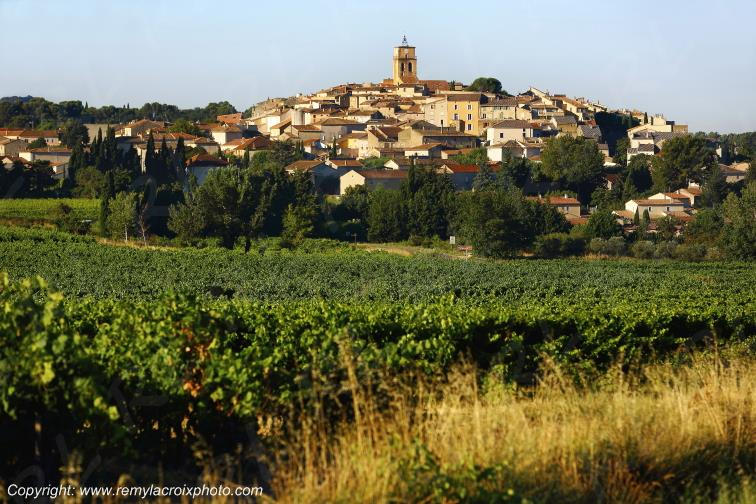 Village de Sablet,Vaucluse,France
