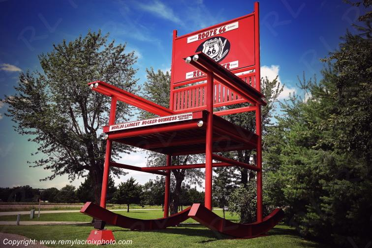 World's Largest Rocking-chair,Route 66,Cuba,Missouri,USA