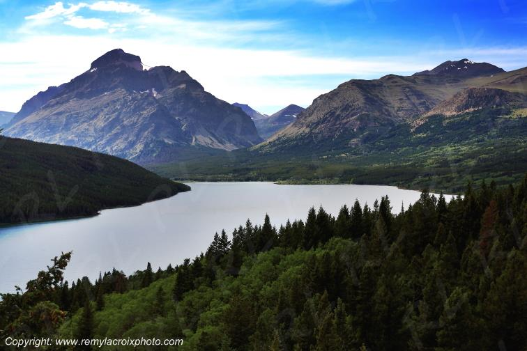 Two Medecine Lake,Glacier Nat'l Park,Montana,USA