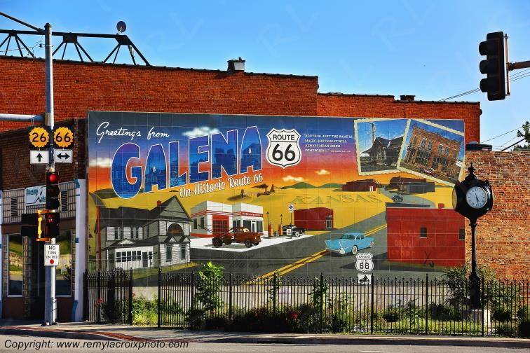 Greetings from Galena,Route 66,Kansas,USA