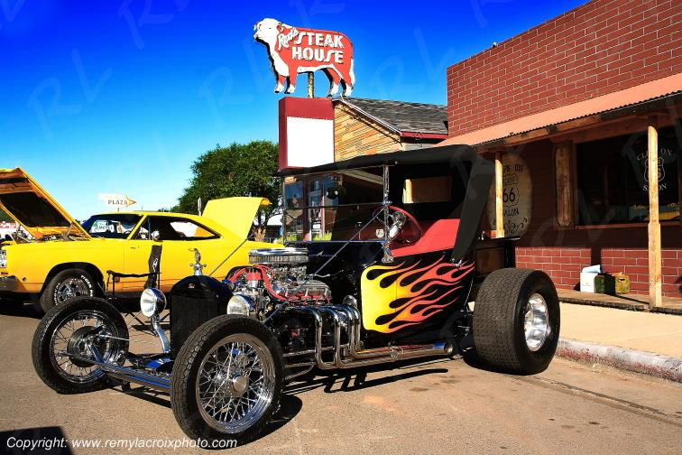 Hot Rod Ford T Williams Route 66 Arizona USA