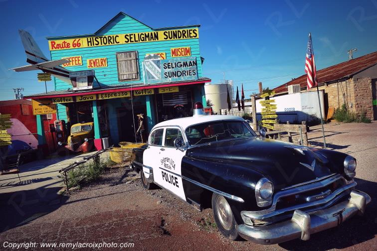 Historic Seligman Sundries Route 66 Arizona USA www.remylacroixphoto.com
