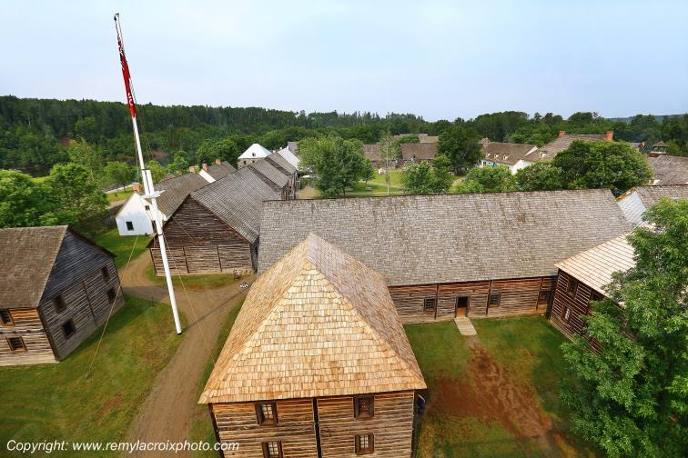 Fort William Historic Park,Ontario,Canada