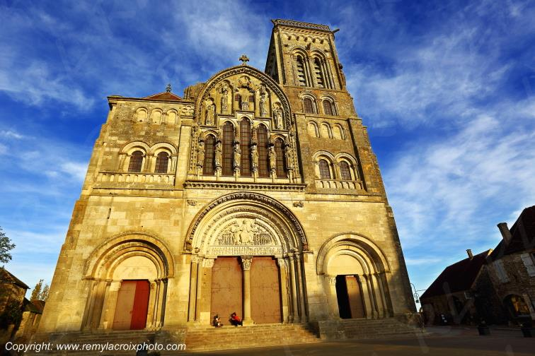 Basilique de Vézelay,Yonne,France