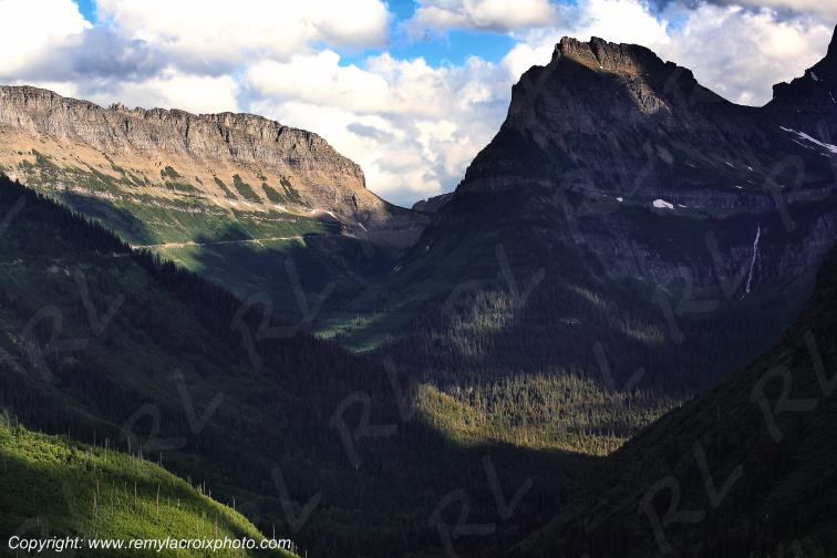 Rocky Mountains Glacier National Park Montana USA www.remylacroixphoto.com
