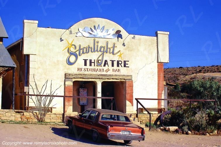 Terlingua Ghost Town Theater Texas USA www.remylacroixphoto.com