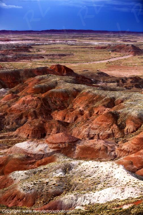 Painted Desert,Petrified Forest National Park,Arizona,USA