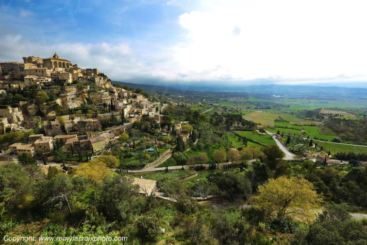 Village de Gordes,Vaucluse,France