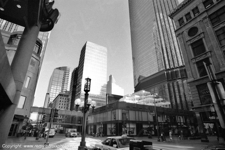 Minneapolis downtown Minnesota USA