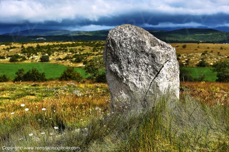 Menhir de la Trivalle,Rogues,Gard,France