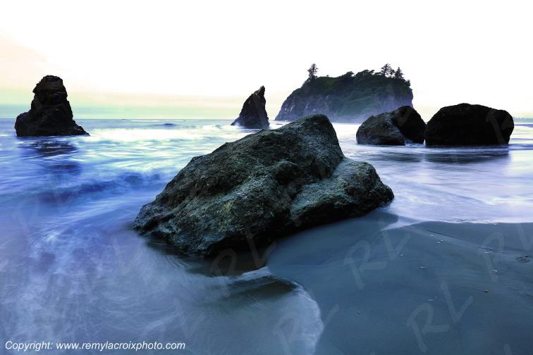 Ruby Beach Olympic National Park Washington USA www.remylacroixphoto.com