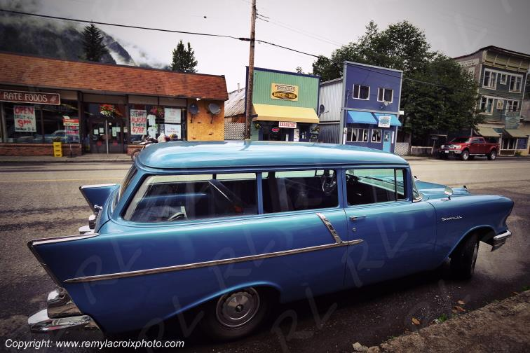 Chevy Bel Air Station Wagon 57,Stewart,British Columbia,Canada