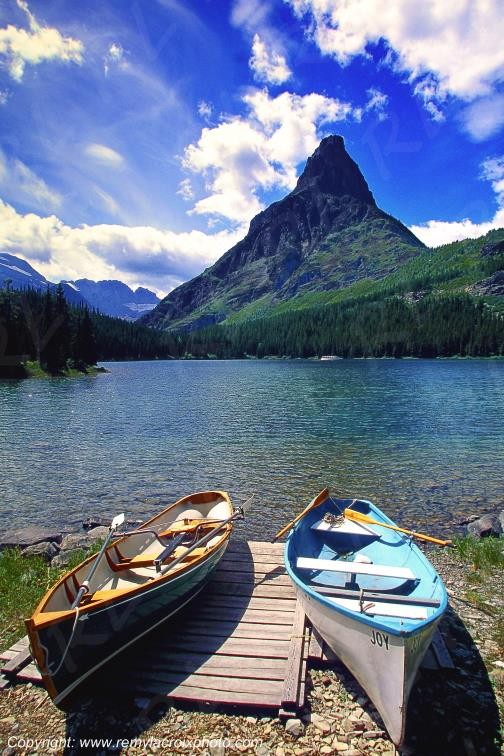 Swiftcurrent Lake Glacier National Park Montana USA www.remylacroixphoto.com