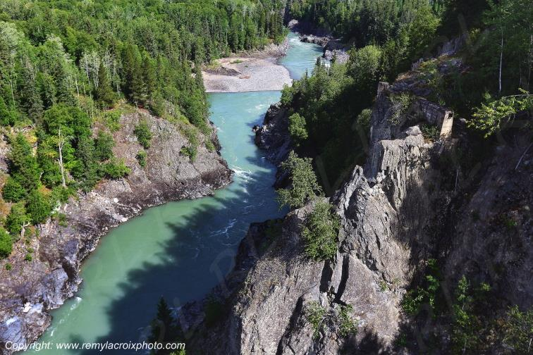 Gorges de la Bulkley River,British Columbia,Canada