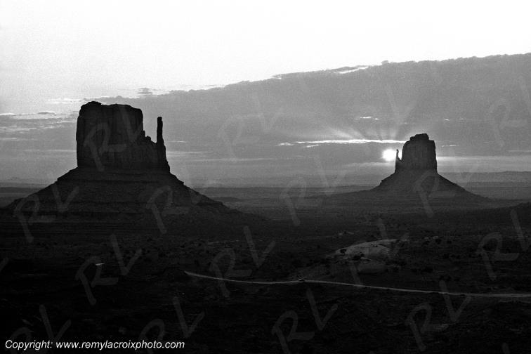 The Mittens and Merrick Butte Monument Valley Navajoland USA