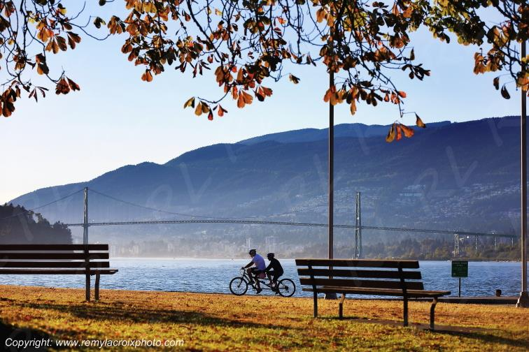 Stanley Park,baie Burrard,Vancouver,British Columbia,Canada