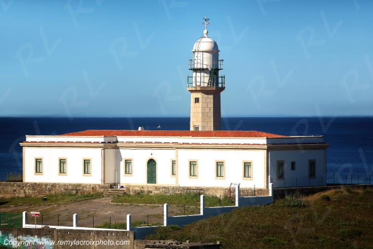 Larino Lighthouse Galice Espagne Spain Espana