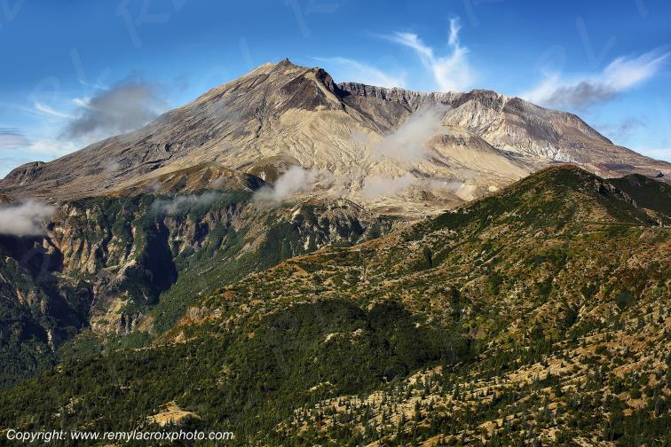 Mount St Helens National Volcanic Monument,Washington,USA