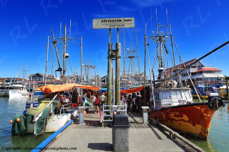 Steveston Fish Market,Richmond,British Columbia,Canada
