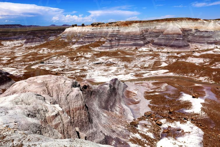 Blue Mesa,Petrified Forest National Park,Arizona,USA