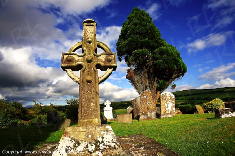 Ahenny High Crosses Tipperary Irlande Ireland