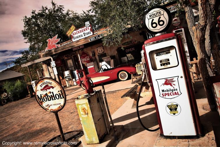 Hackberry Trading Post Route 66 Arizona USA www.remylacroixphoto.com