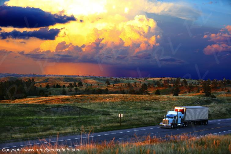 Fort Robinson Truck Nebraska USA